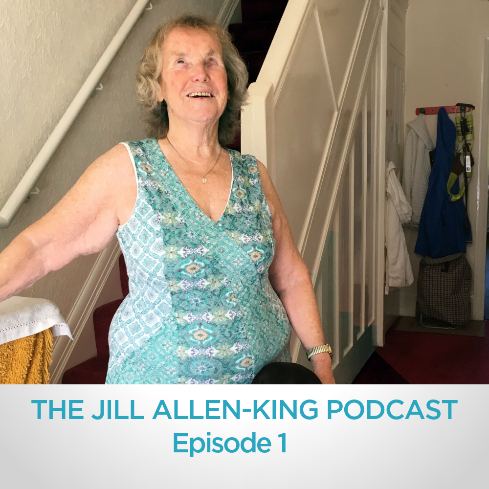 A picture of blind and patrially sighted campaigner Jill Allen-King OBE