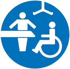 An image showing the logo of Changing-places.org. Fully Accessible WCs